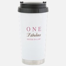One Fabulous Sister-In-Law Travel Mug
