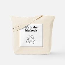 Big Book 2 Tote Bag