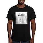 Big Book 2 Men's Fitted T-Shirt (dark)