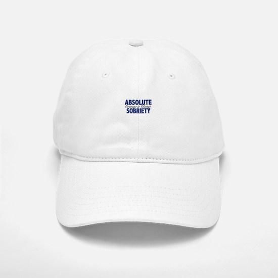 Absolute Sobriety Baseball Baseball Cap