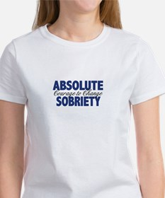 Absolute Sobriety Women's T-Shirt