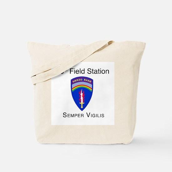 USASA Field Station Herzo Base Tote Bag