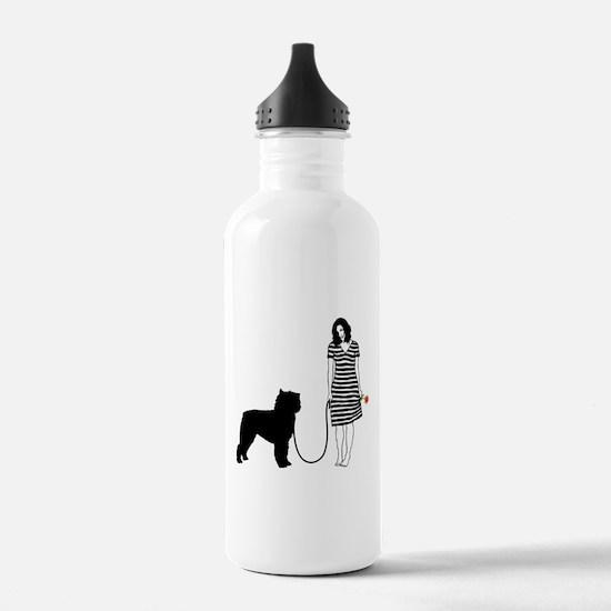 Bouvier des Flandres Sports Water Bottle