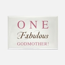 One Fabulous Godmother Rectangle Magnet