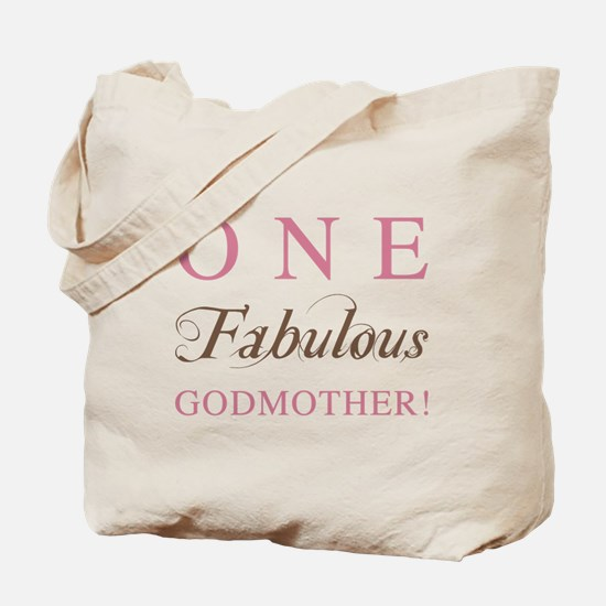 One Fabulous Godmother Tote Bag