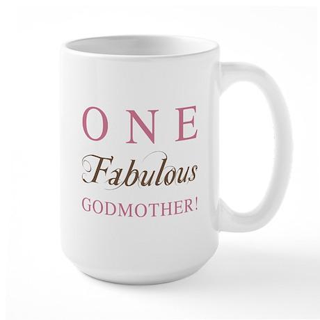 One Fabulous Godmother Large Mug
