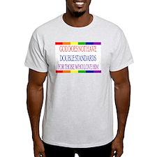GAY RAINBOW PRIDE Ash Grey T-Shirt