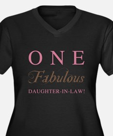 One Fabulous Daughter-In-Law Women's Plus Size V-N
