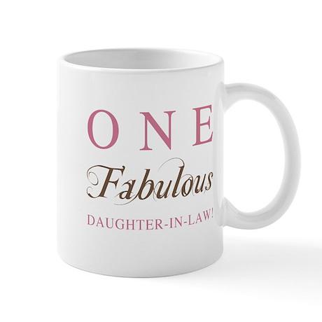 One Fabulous Daughter-In-Law Mug