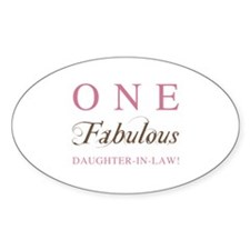 One Fabulous Daughter-In-Law Decal