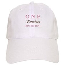 One Fabulous Big Sister Cap