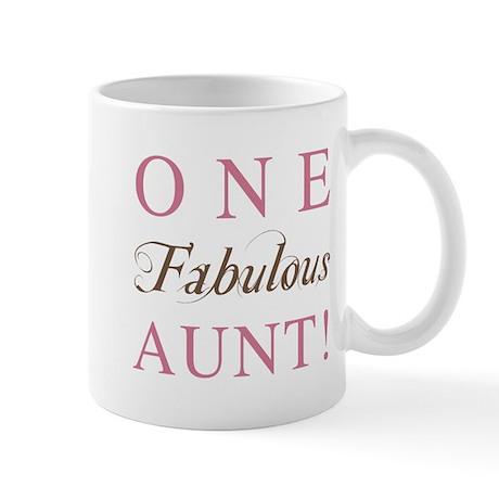 One Fabulous Aunt Mug