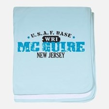McGuire Air Force Base baby blanket
