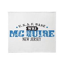 McGuire Air Force Base Throw Blanket