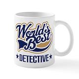 Detective Small Mugs (11 oz)
