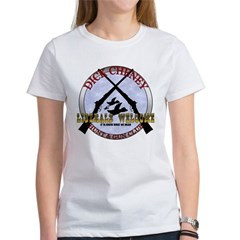 Dick Cheney Gun Club Women's T-Shirt