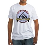 Dick Cheney Gun Club Fitted T-Shirt