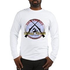 Dick Cheney Gun Club Long Sleeve T-Shirt