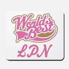 LPN Licensed Practical Nurse Mousepad