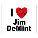 I Love Jim DeMint Small Poster