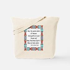 INDIAN PRAYER Tote Bag