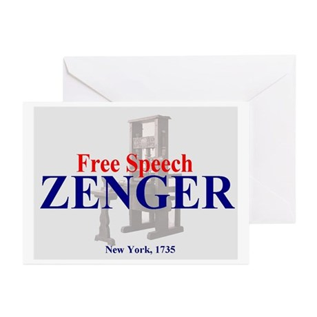 ZENGER - Foundation for the 1st Amendment Greeting