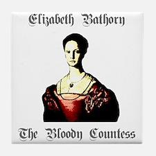 Elizabeth Bathory Tile Coaster