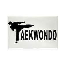 Taekwondo Rectangle Magnet