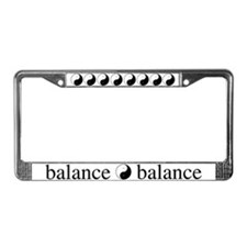 Daoist Balance License Plate Frame