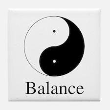 Daoist Balance Tile Coaster
