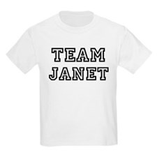 Team Janet Kids T-Shirt