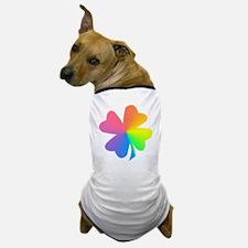 Rainbow Clover Dog T-Shirt