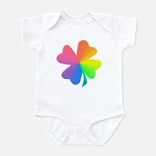 Rainbow Clover Infant Bodysuit