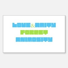 Funny Forget love Decal