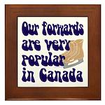 Popular forwards Framed Tile