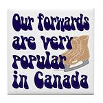 Popular forwards Tile Coaster