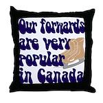 Popular forwards Throw Pillow