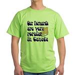 Popular forwards Green T-Shirt