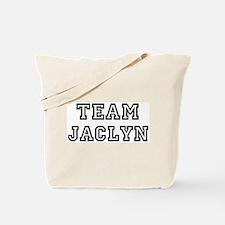 Team Jaclyn Tote Bag