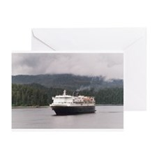 Alaska Marine Hwy Greeting Cards (Pk of 10)