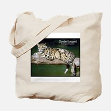 Clouded Leopard Photo Tote Bag