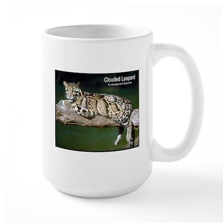 Clouded Leopard Photo Large Mug