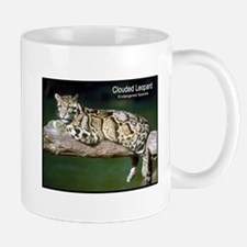 Clouded Leopard Photo Mug
