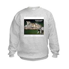 Clouded Leopard Photo Sweatshirt