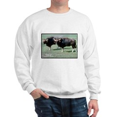 Gaur Bulls Photo Sweatshirt