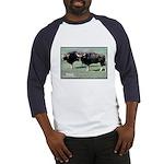 Gaur Bulls Photo (Front) Baseball Jersey