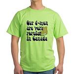 Popular defensemen Green T-Shirt