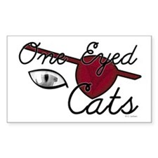 One Eyed Cats Decal
