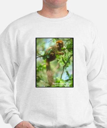 Red-Fronted Lemur Photo (Front) Sweatshirt