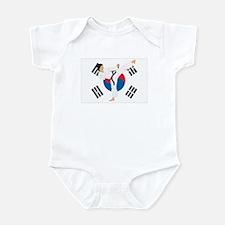 Taekwondo Infant Bodysuit